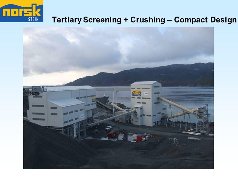 Tertiary Screening + Crushing – Compact Design
