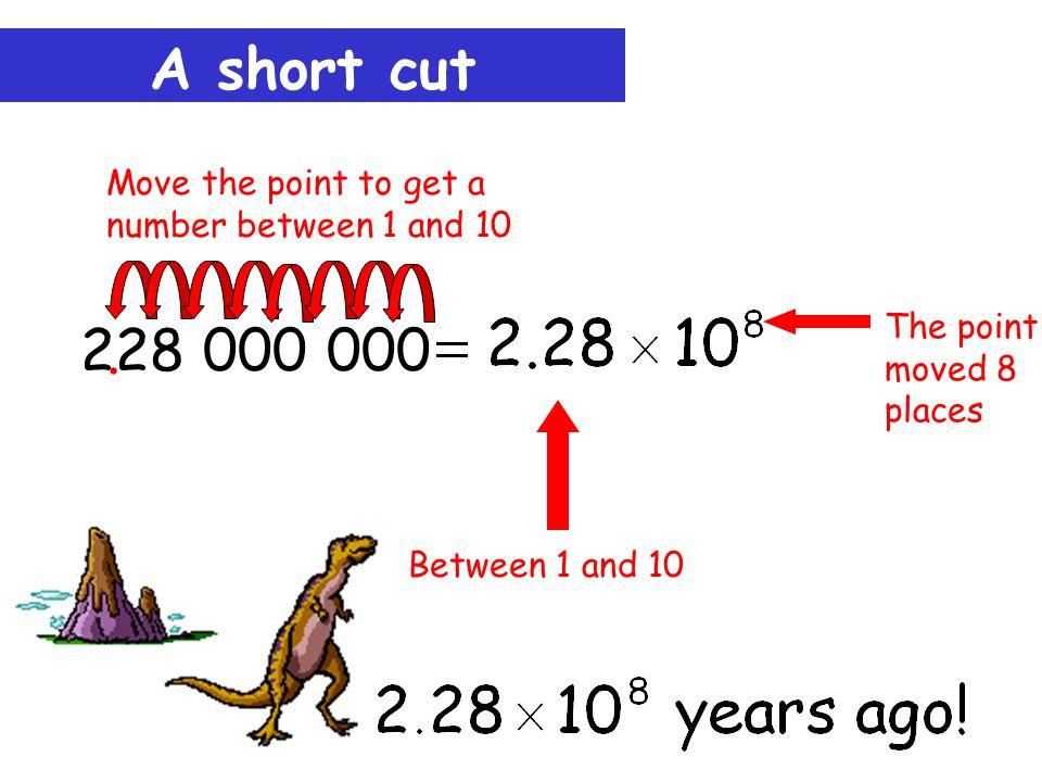 A short cut 228 000 000..