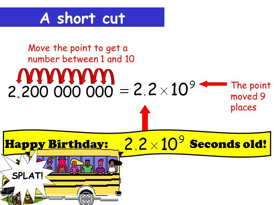 A short cut 2 200 000 000..