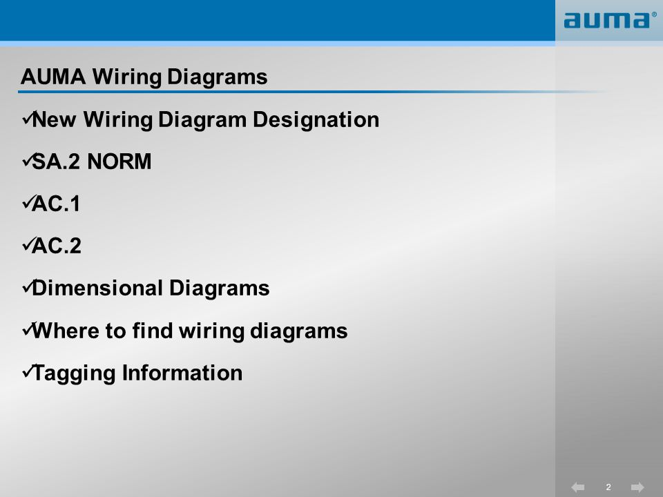 3 New wiring diagram designations