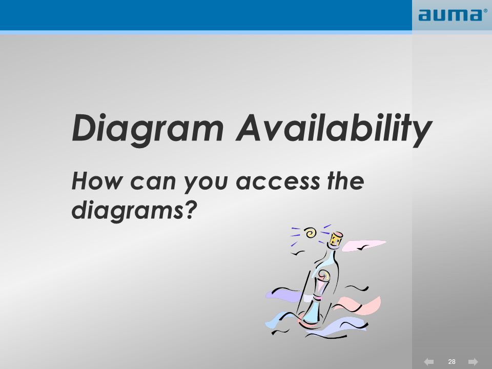 28 Diagram Availability How can you access the diagrams?