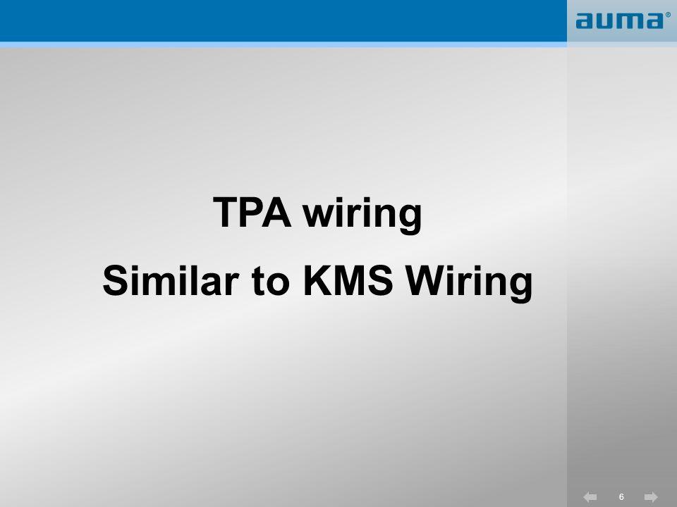 17 TPC numbering system TPC - Terminal Plan Controls