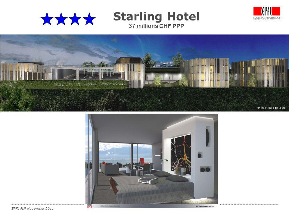 EPFL FLP November 2011 Starling Hotel 37 millions CHF PPP