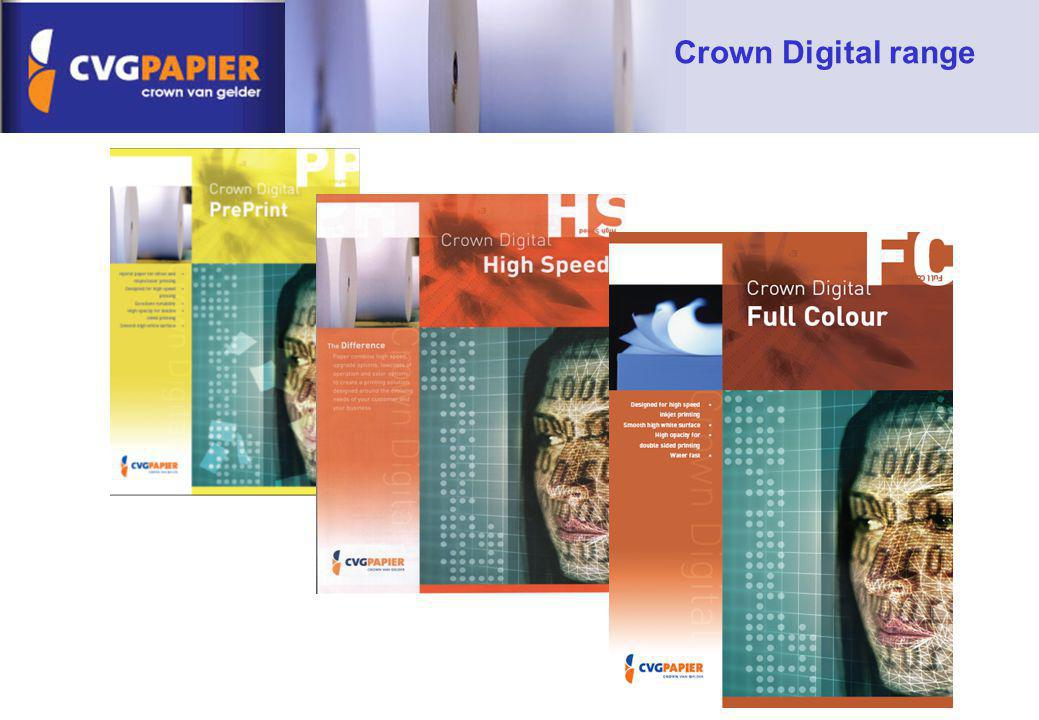 Crown Digital range