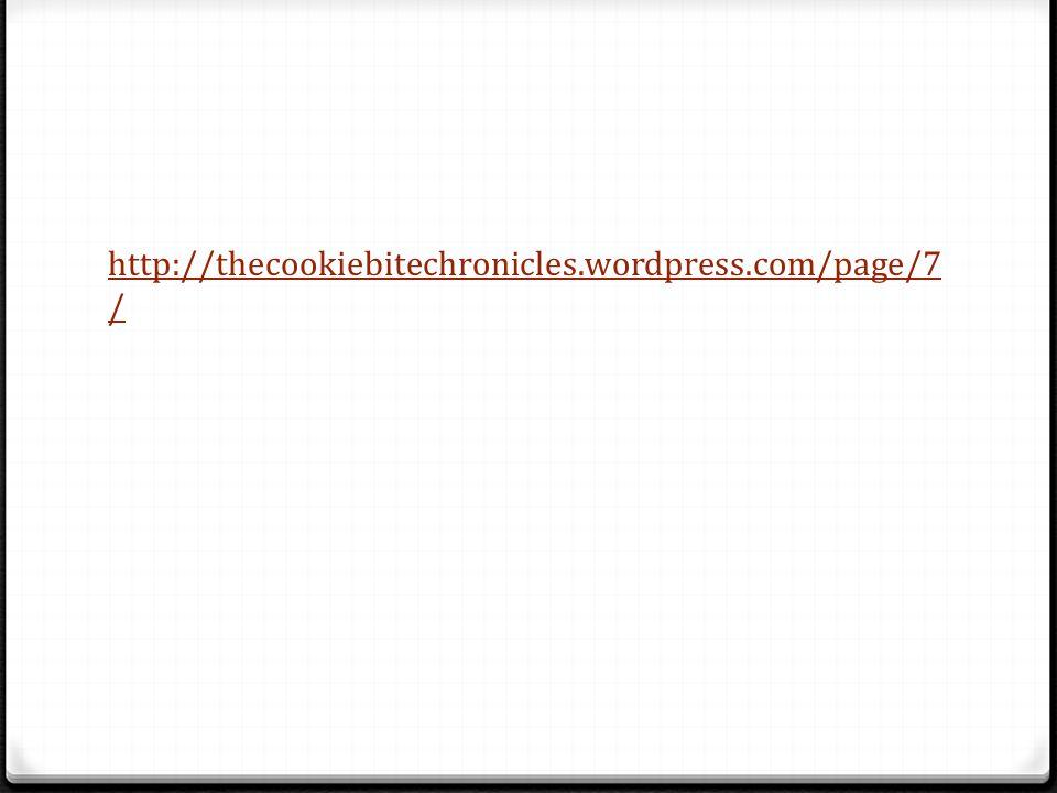 http://thecookiebitechronicles.wordpress.com/page/7 /