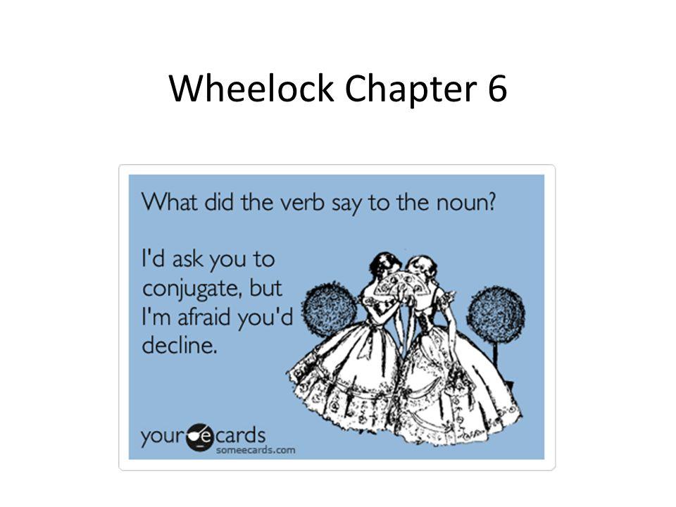 Wheelock Chapter 6