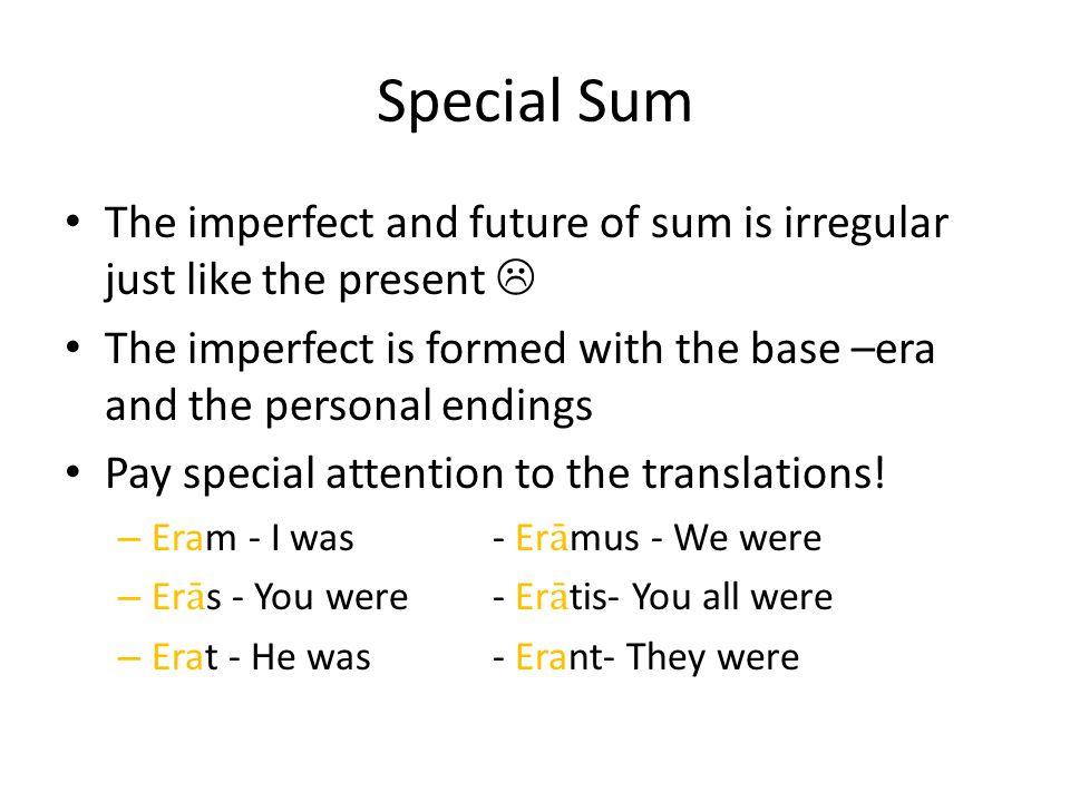 Special Sum