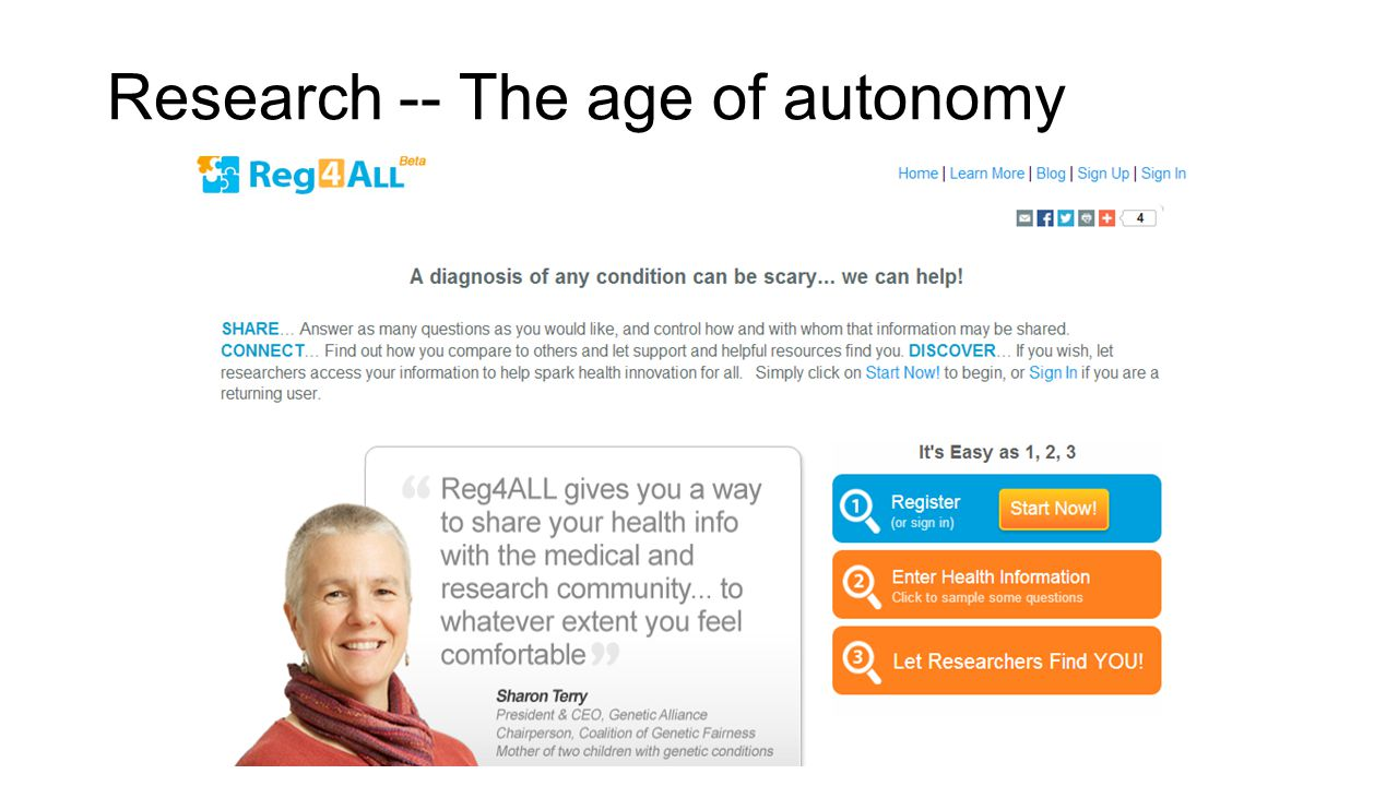 Research -- The age of autonomy