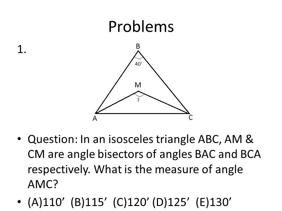 Problems 1.