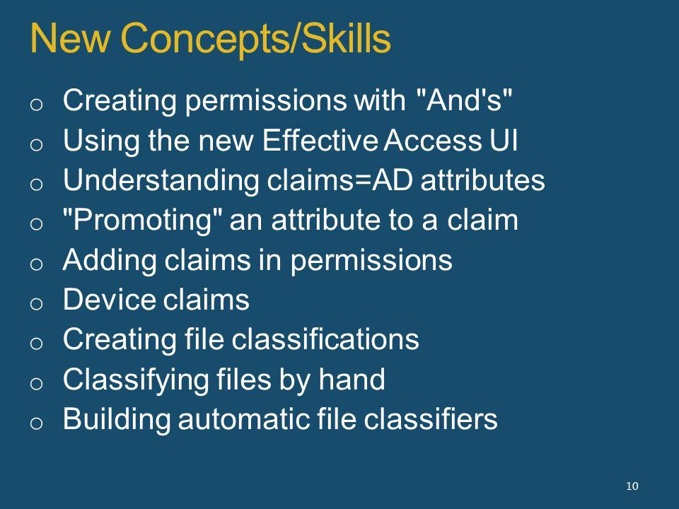 New Concepts/Skills 10