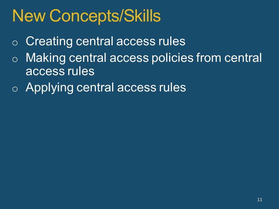 New Concepts/Skills 11