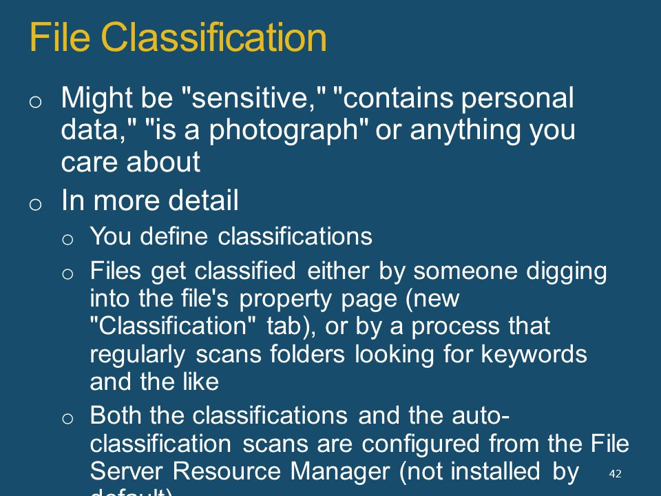 File Classification 42