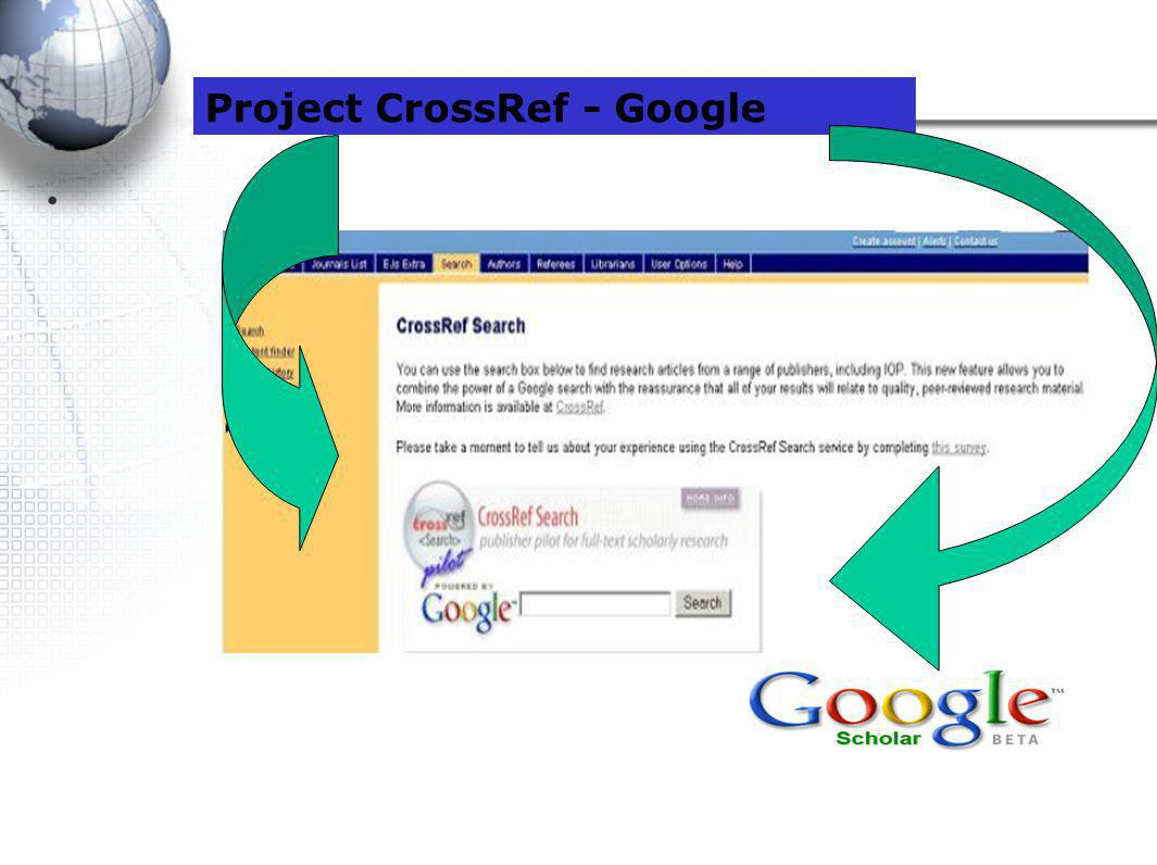 Project CrossRef - Google
