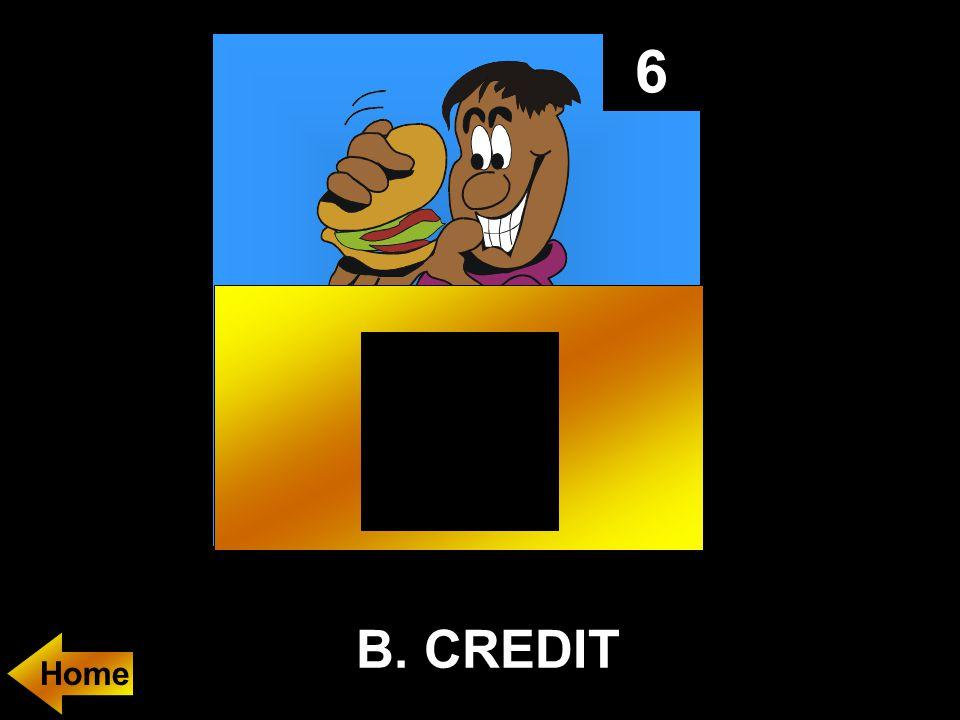 6 B. CREDIT Home