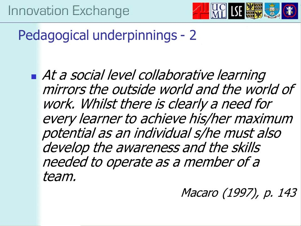 Rationale Increase exposure of undergraduate students to school-age children to encourage PGCE Increase level of collaboration and peer cognisance among school-age learners Increase exposure of Y9 pupils to innovative language learning experiences, to encourage uptake of languages at GCSE level Increase collaboration between departments at university level, and between university and schools, with view to future collaborative action research projects; Utilise 'pull' of motivational ICT activities for language learning.