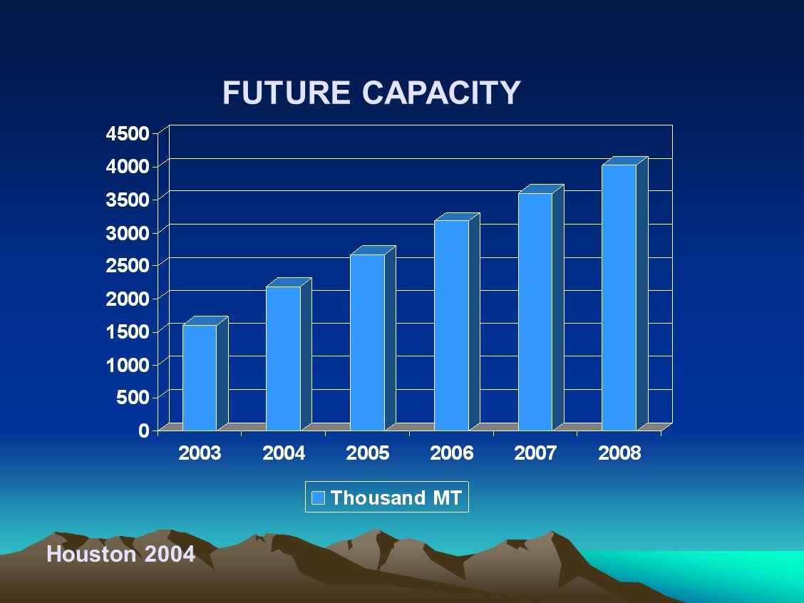 Houston 2004 FUTURE CAPACITY