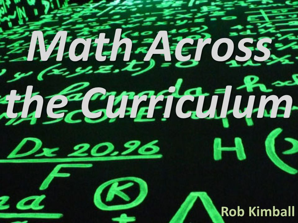 Promote Math Across the Curriculum Non SMET students SMET students