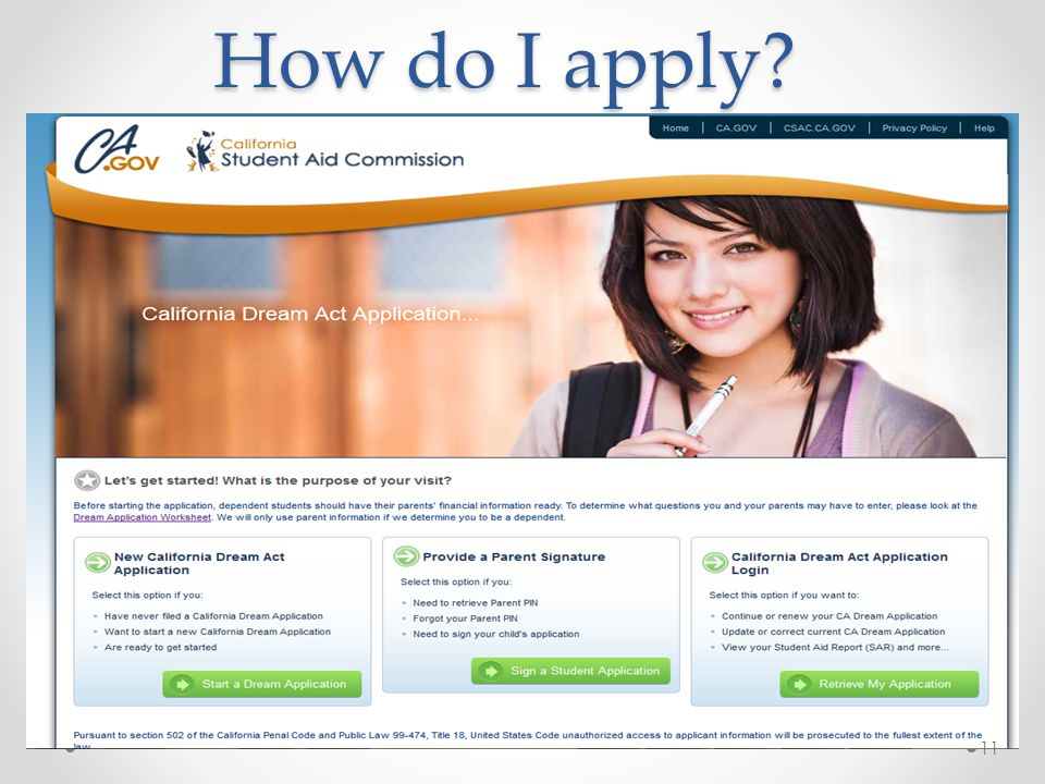 How do I apply? 11