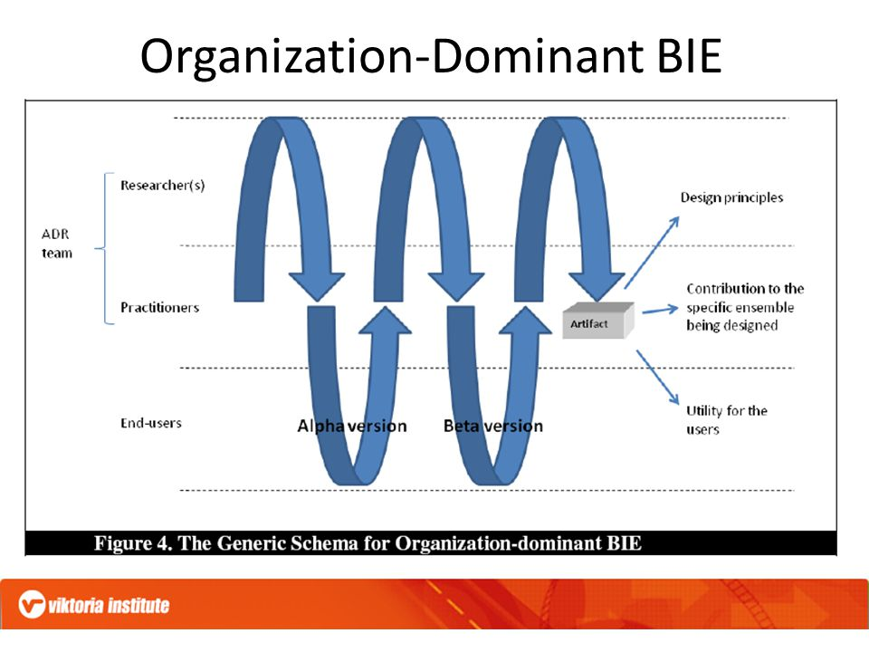 Organization-Dominant BIE