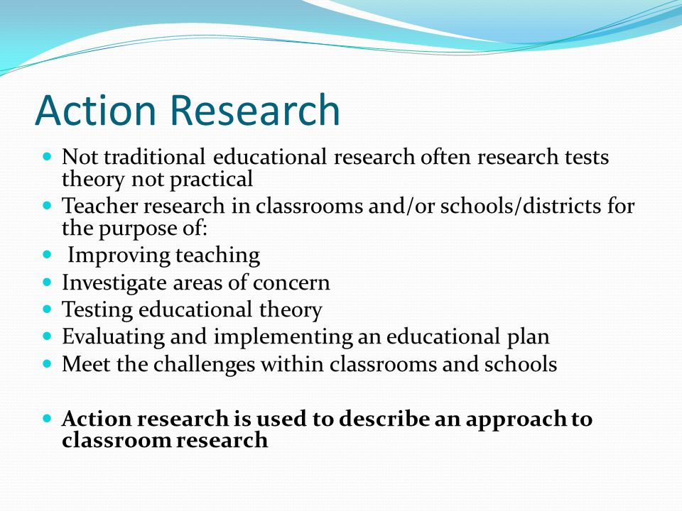 action research dissertations