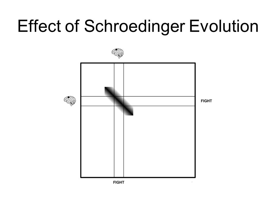 Effect of Schroedinger Evolution