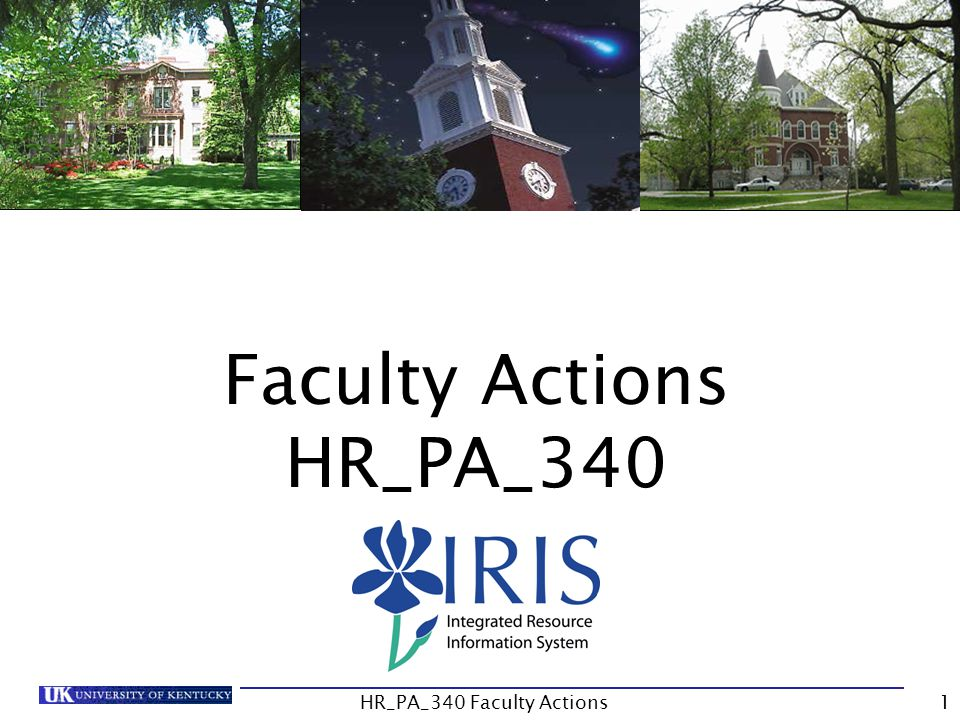 Faculty Actions HR_PA_340 1HR_PA_340 Faculty Actions