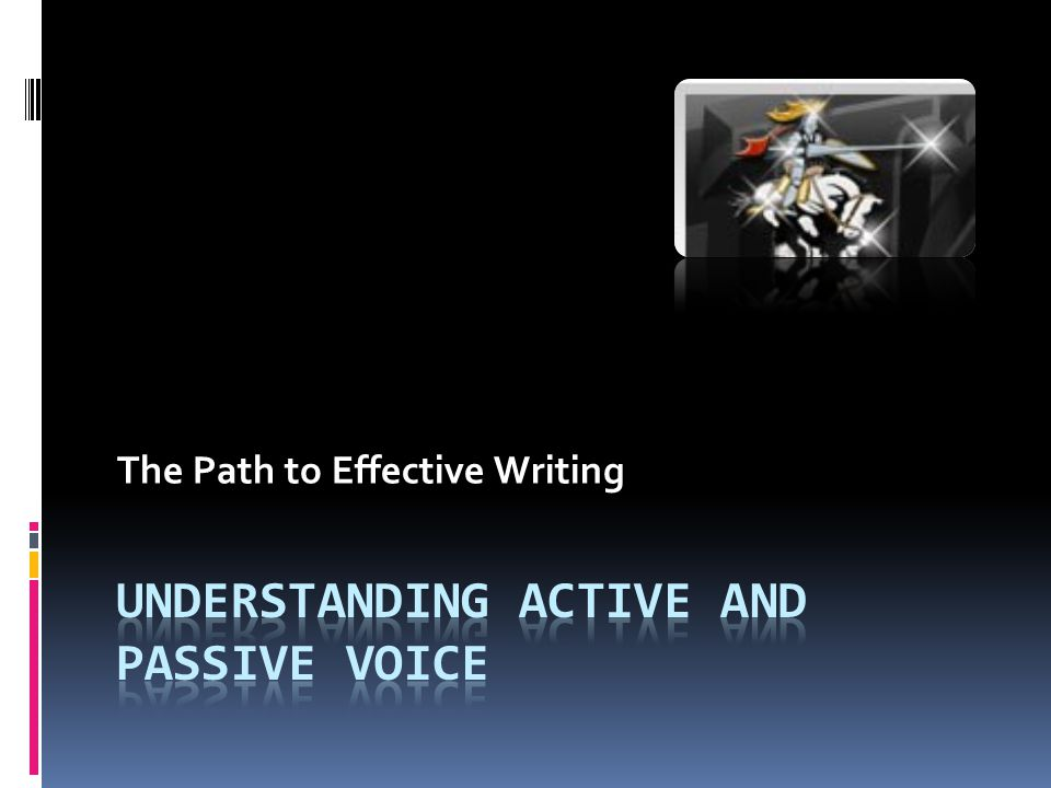 The Path to Effective Writing