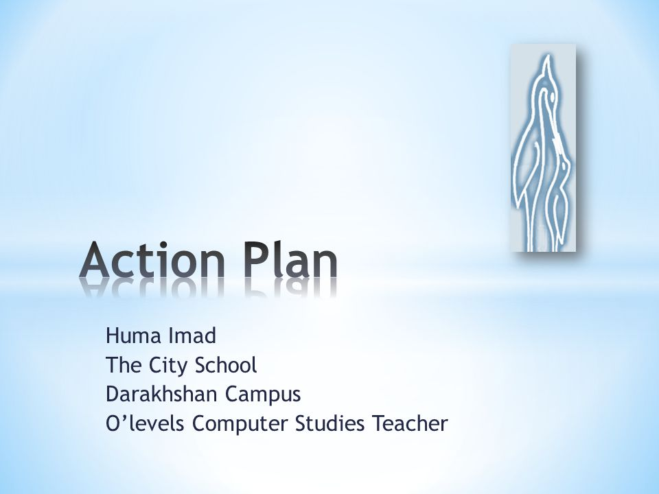 Huma Imad The City School Darakhshan Campus O'levels Computer Studies Teacher