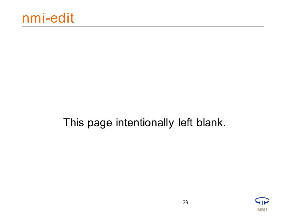 29 This page intentionally left blank.