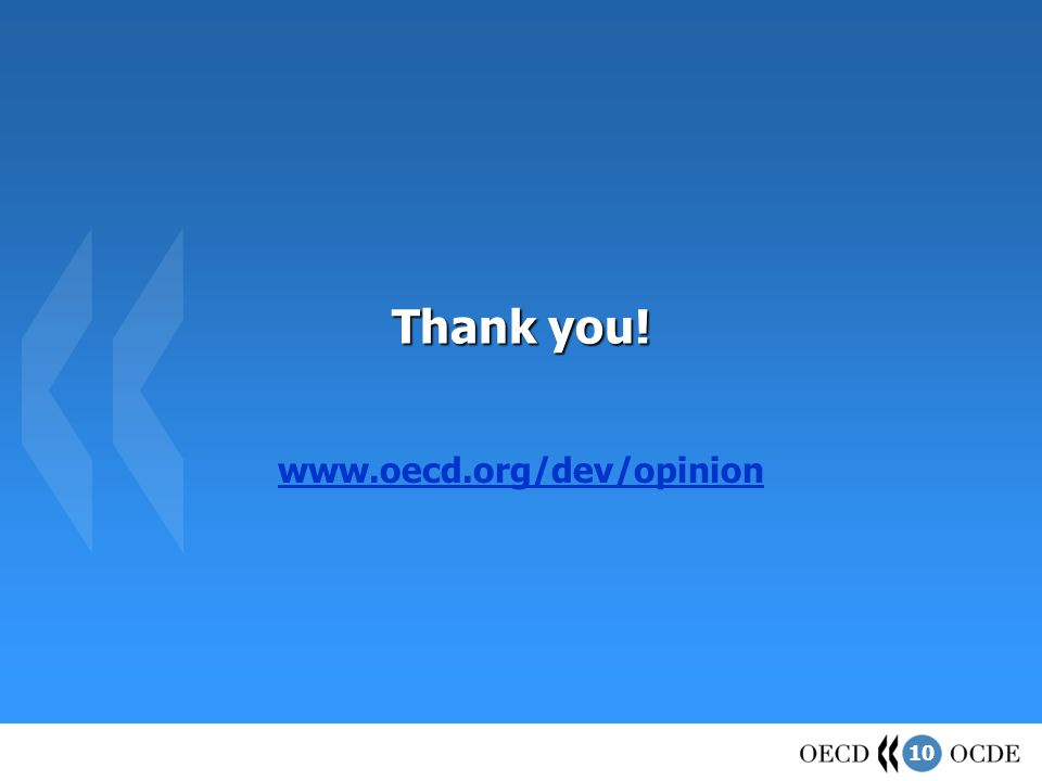 10 Thank you! www.oecd.org/dev/opinion