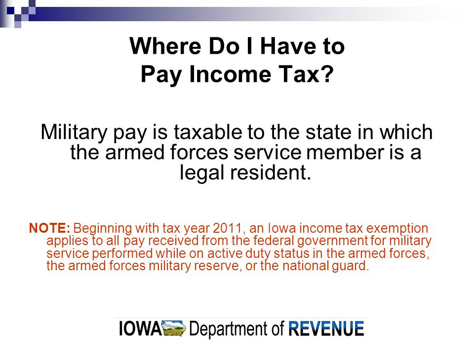 Where Do I Have to Pay Income Tax.