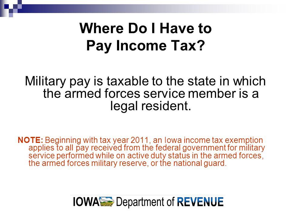 Is Iowa Income Tax Ever Forgiven.