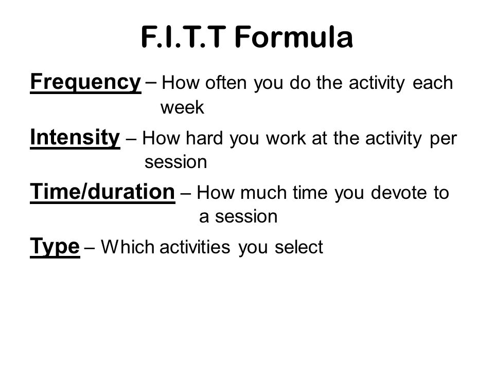 3 Basic Stages of a Fitness Program 3.Cool down Is an activity that prepares the muscles to return to resting state.