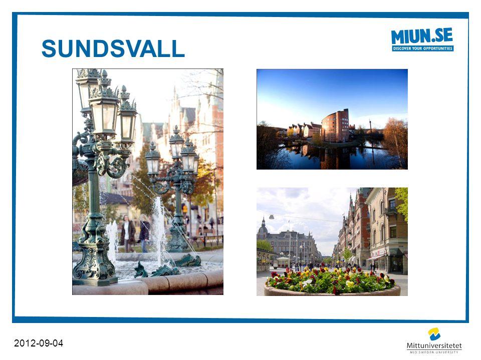 SUNDSVALL 2012-09-04