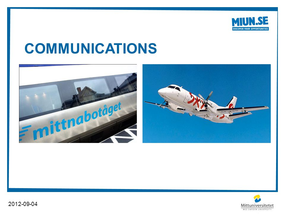 COMMUNICATIONS 2012-09-04