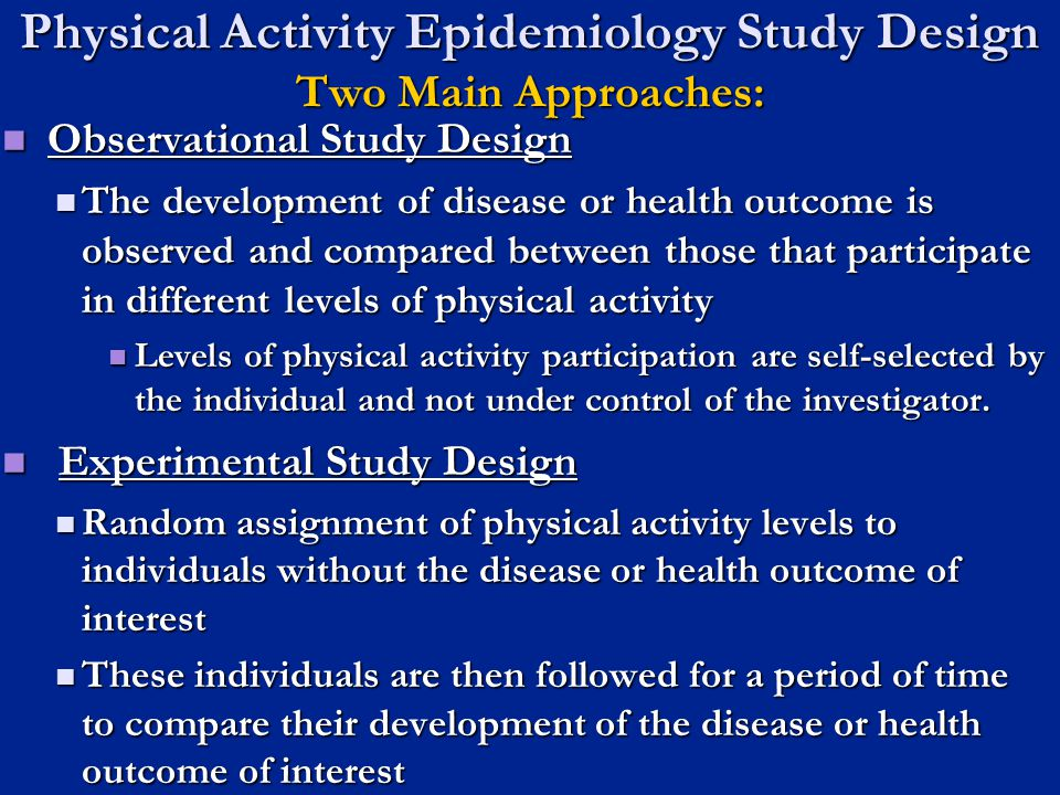 Assessment Considerations The proper assessment or measurement of physical activity is a challenge, especially in free-living individuals.