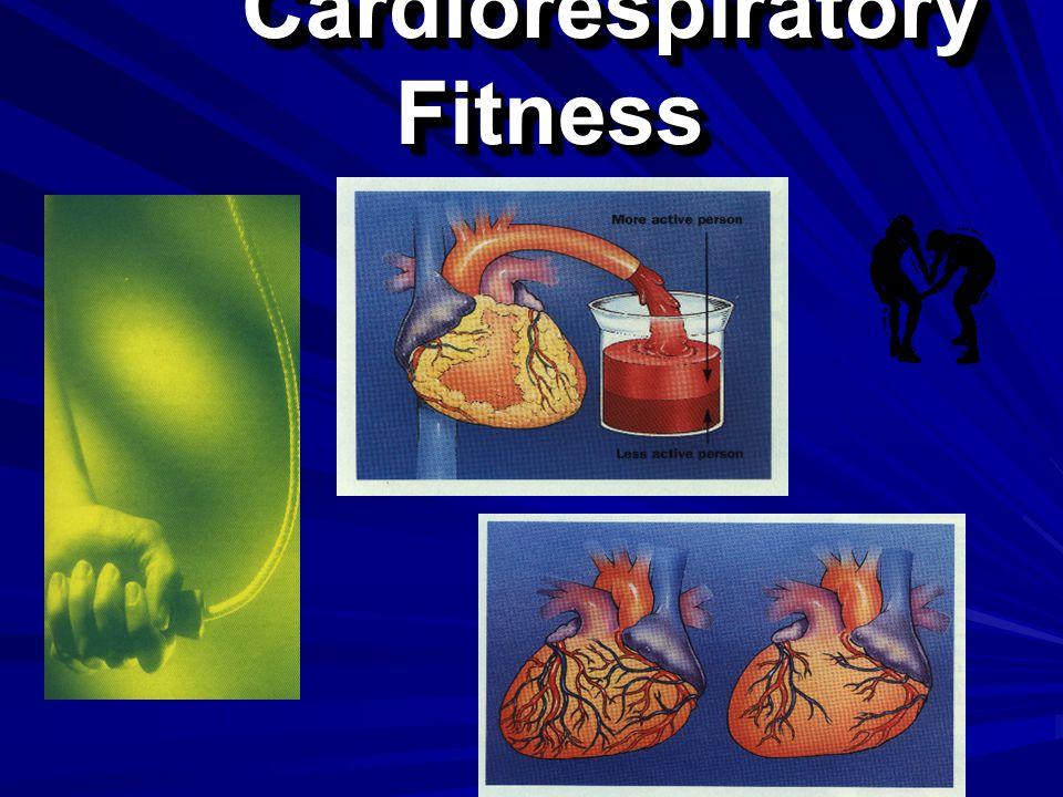 Cardiorespiratory Fitness Cardiorespiratory Fitness