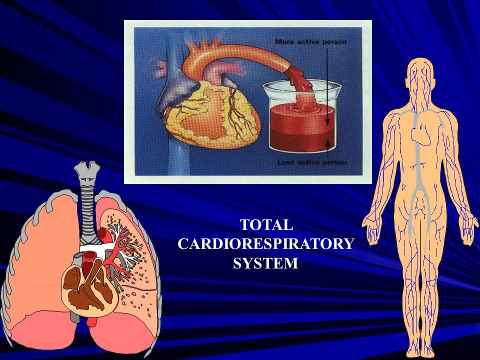TOTAL CARDIORESPIRATORY SYSTEM