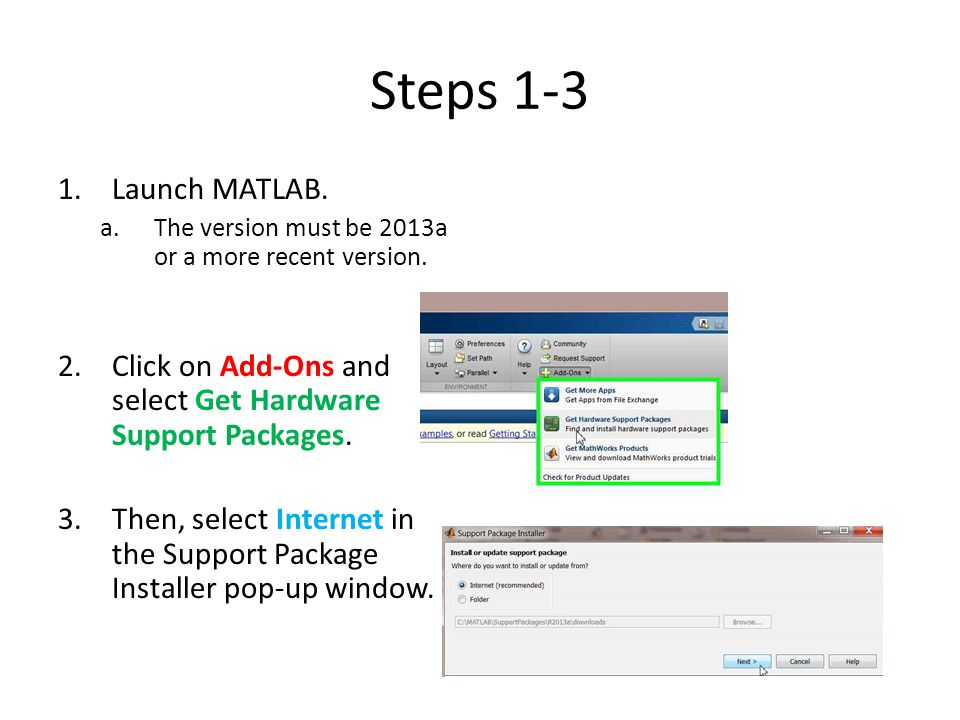 Step 4 4.Select the button next to Install to select the support package for the Digilent Analog Discovery.