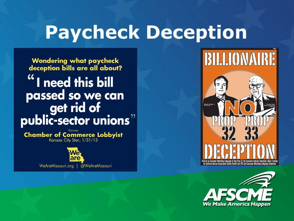 Paycheck Deception