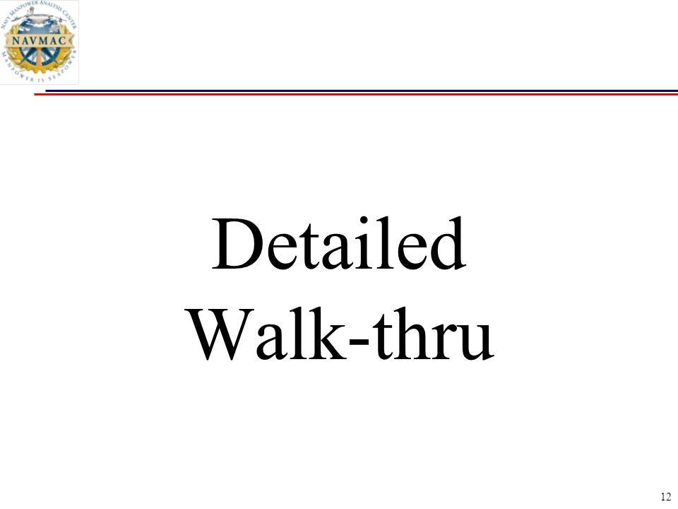 12 Detailed Walk-thru