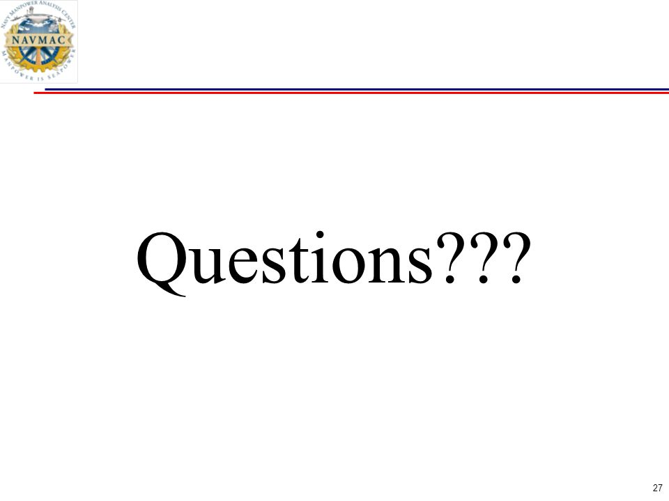27 Questions???