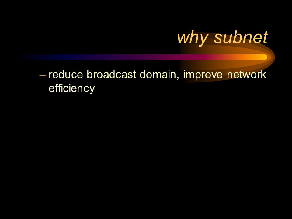 Networks and subnets why subnet subnet mask restrictions on 'borrowed' bits