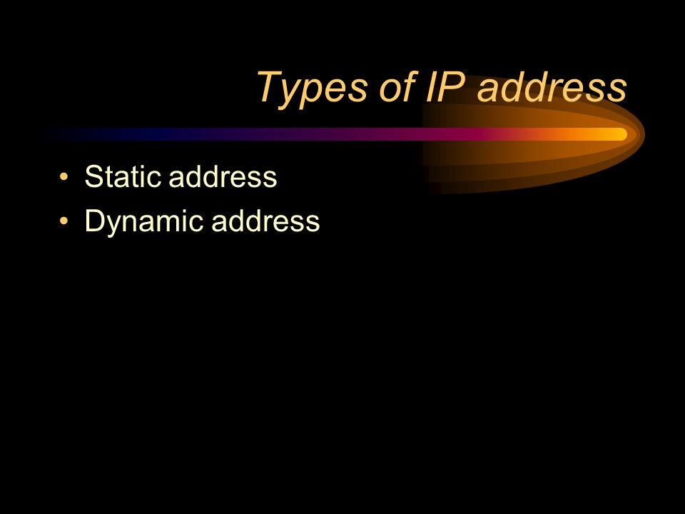 What is an IP address? IP (Internet Protocol) address –device used by routers, to select best path from source to destination, across networks and int