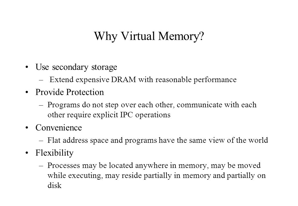 Design Issues How is memory partitioned? How are processes (re)located? How is protection enforced?
