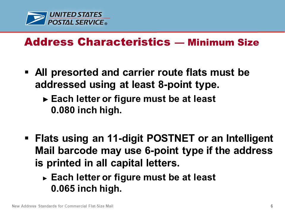 7 Two preferences for best read rates:  Sans-serif font.