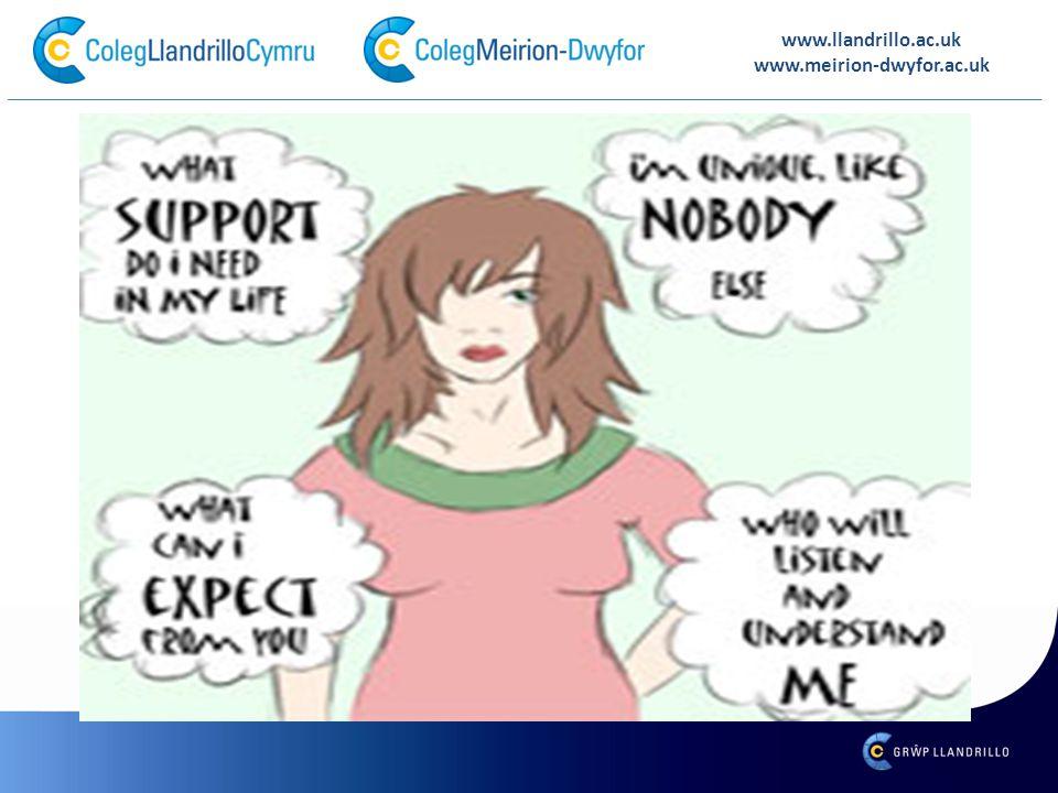 www.llandrillo.ac.uk www.meirion-dwyfor.ac.uk