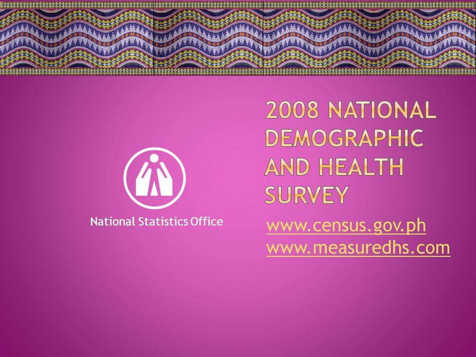 www.census.gov.ph www.measuredhs.com National Statistics Office