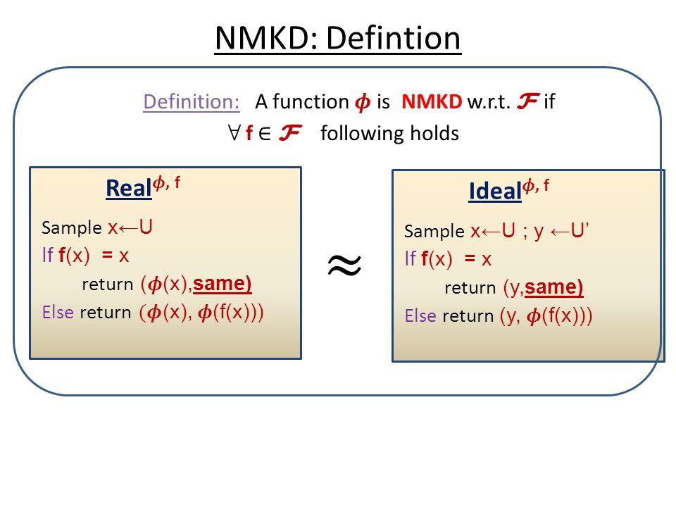 NMKD: Defintion