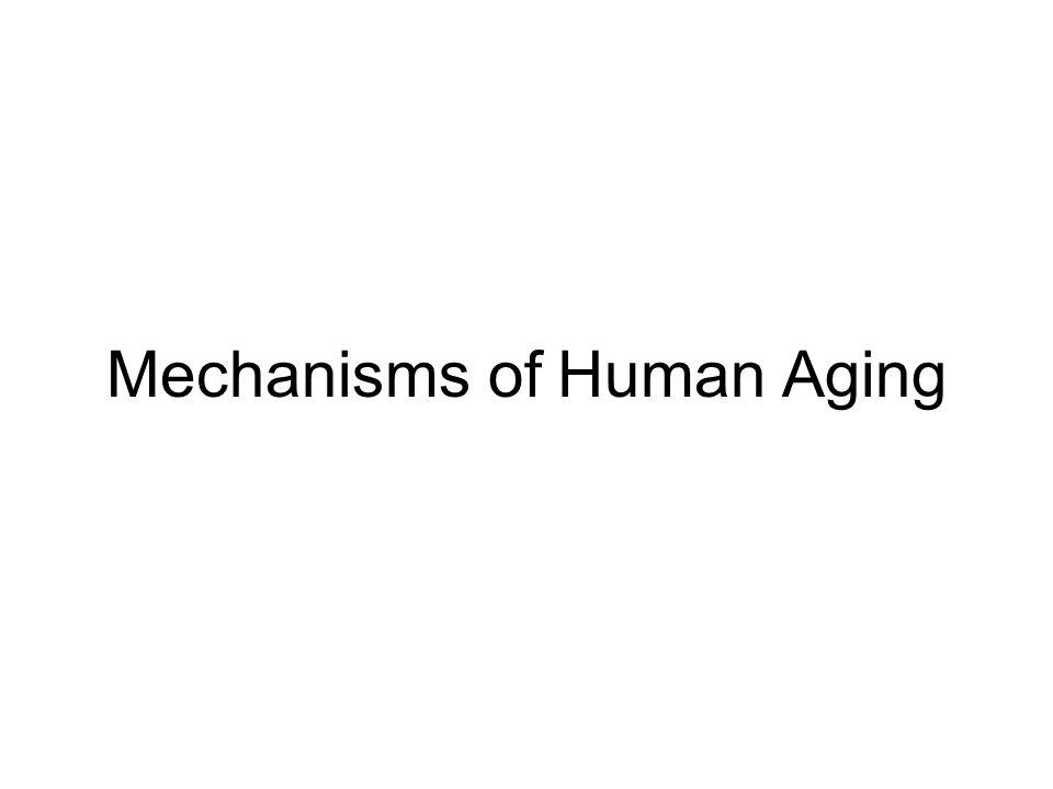 Mechanisms of Human Aging